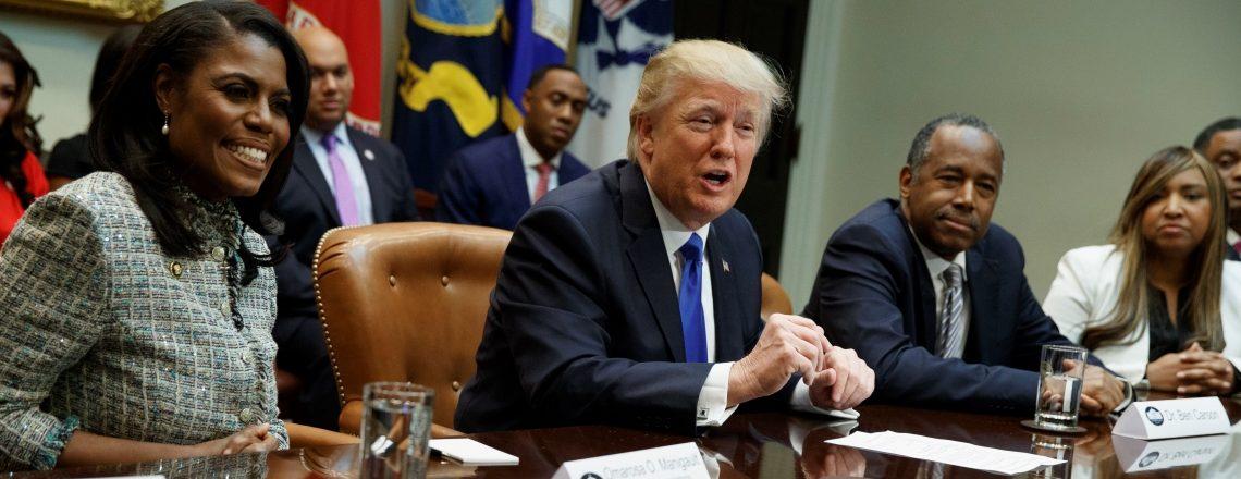 Trump honors African Americans
