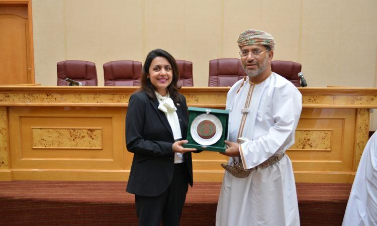 DCM Assiya Ashraf-Miller with Oman's Attorney General